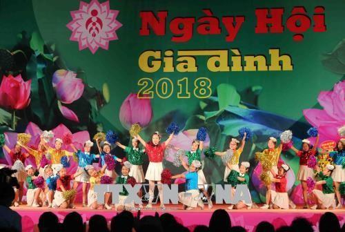 งานวันครอบครัวเวียดนามปี 2019 - ảnh 1