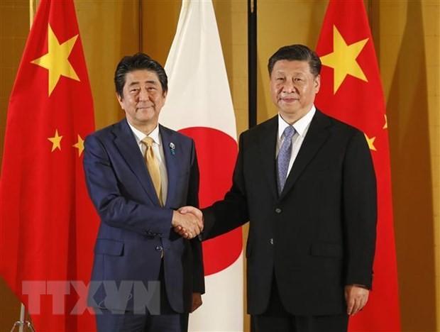 จีนและญี่ปุ่นบรรลุข้อตกลง 10 ข้อเพื่อกระชับความสัมพันธ์ทวิภาคี - ảnh 1