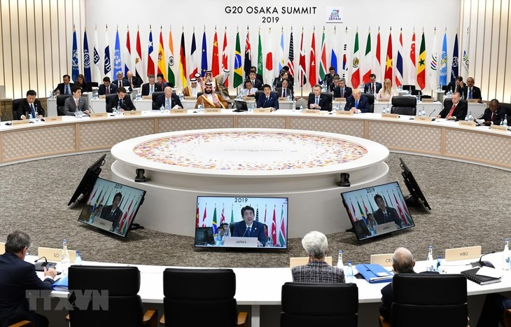 การประชุมผู้นำจี20 ออกแถลงการณ์ร่วมส่งเสริมการค้าเสรีและความเท่าเทียมกัน - ảnh 1