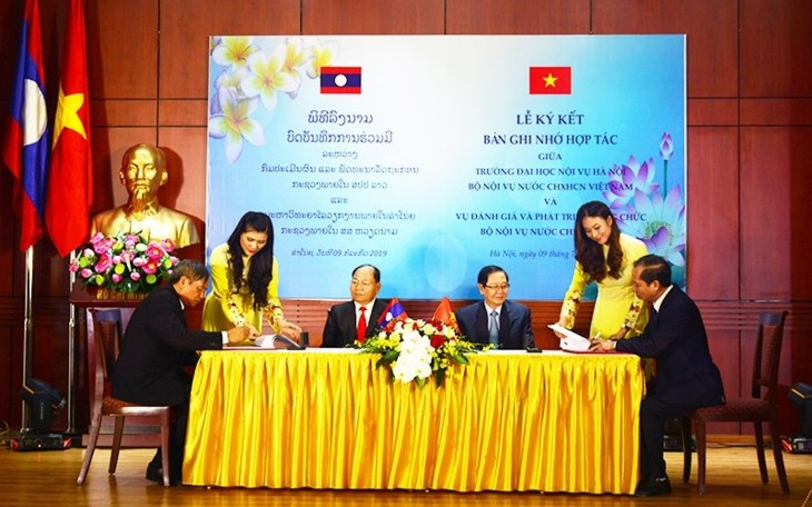 กระชับความสัมพันธ์ร่วมมือระหว่างกระทรวงรักษากิจการภายในเวียดนามกับกระทรวงมหาดไทยของลาว - ảnh 2