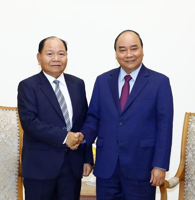กระชับความสัมพันธ์ร่วมมือระหว่างกระทรวงรักษากิจการภายในเวียดนามกับกระทรวงมหาดไทยของลาว - ảnh 1