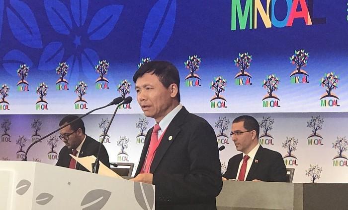 เวียดนามมีส่วนร่วมที่เข้มแข็งต่อขบวนการไม่ฝักใฝ่ฝ่ายใด - ảnh 2