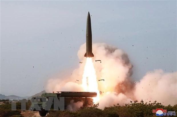 เจ้าหน้าที่สาธารณรัฐเกาหลีและญี่ปุ่นยืนยันว่า สาธารณรัฐประชาธิปไตยประชาชนเกาหลีได้ทดลองยิงขีปนาวุธ - ảnh 1