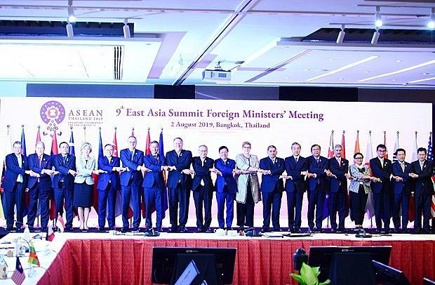 เวียดนามเข้าร่วมการประชุมรัฐมนตรีว่าการกระทรวงการต่างประเทศEAS - ảnh 1