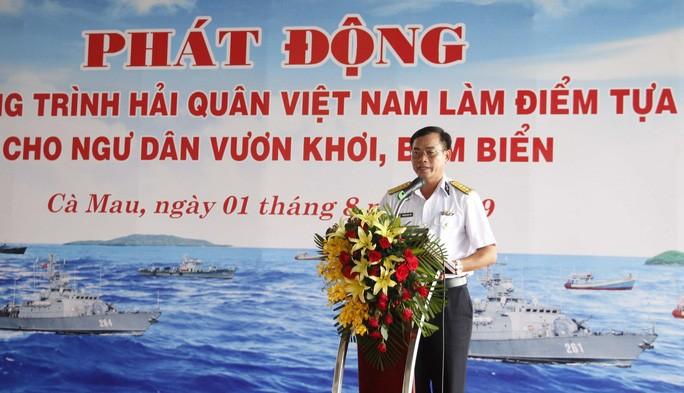 """เปิดการรณรงค์ """"กองทัพเรือเวียดนามเป็นที่พึ่งของชาวประมงในการออกทะเลจับปลา"""" - ảnh 1"""